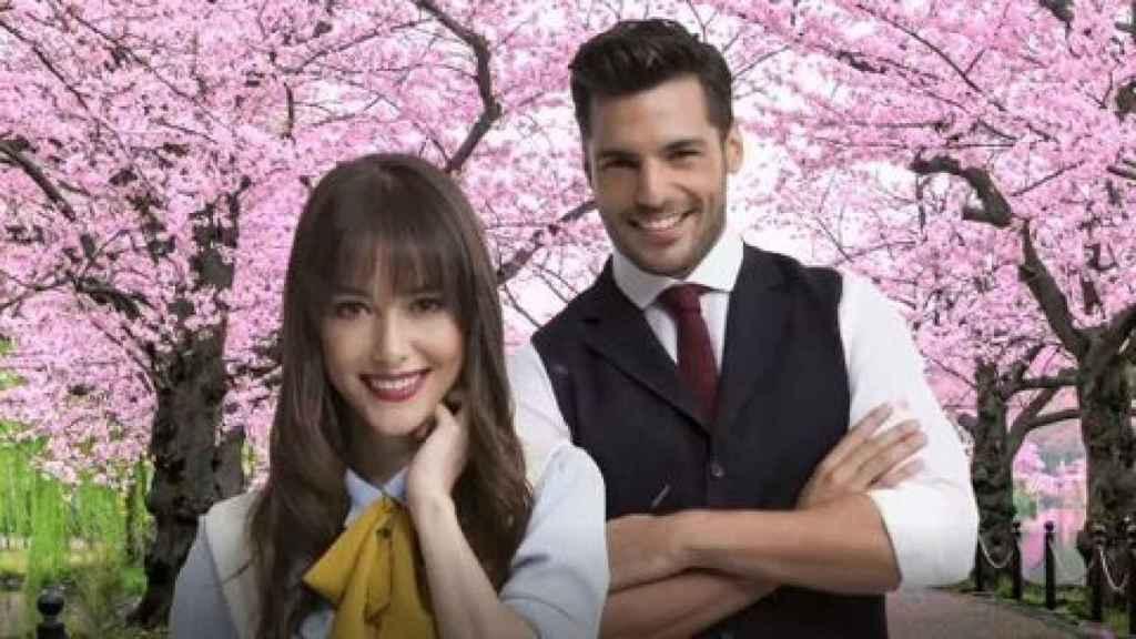 Protagonistas de 'Amar es primavera'