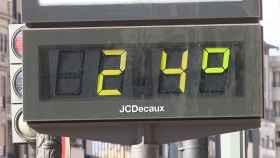 A 24ºC en febrero en Valencia.