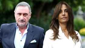 Carlos Herrera y Mariló Montero en un montaje de Jaleos.