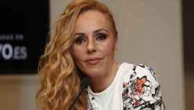 Rocío Carrasco durante la presentación del musical de su madre.