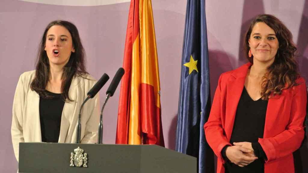 Noelia Vera, secretaria de Estado de Igualdad y secretaria de Feminismos de Podemos.