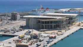 Estación marítima del puerto de Melilla, donde ocurrieron los hechos/.