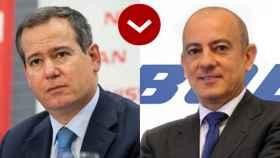 Gianluca de Ficchy, vicepresidente senior y presidente del comité de dirección de Nissan en Europa y Antonio De Palmas, director general de Boeing para el Sur de Europa.