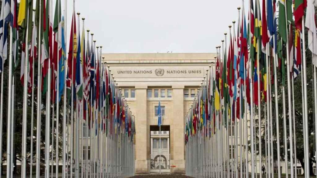 Palacio de las Naciones en Ginebra