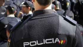 Un agente la Policía Nacional.