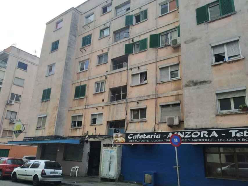 Zona del barrio mallorquín de Son Gotleu en el que la menor se había prostituido anteriormente.