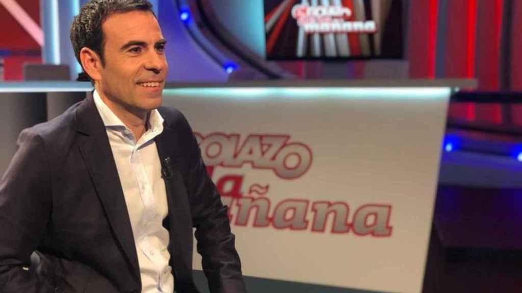Felipe del Campo, en el plató de Gol Televisión