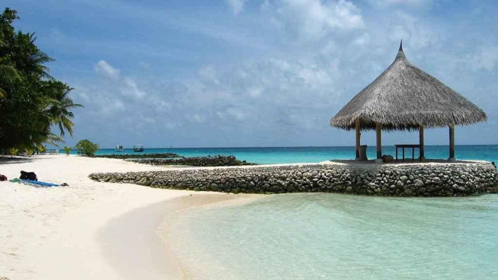 Las Maldivas cuentan con playas paridisíacas.