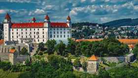 Castillo de Bratislava.