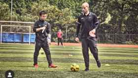 Jesús Camacho formando entrenadores y profesores de educación física en China