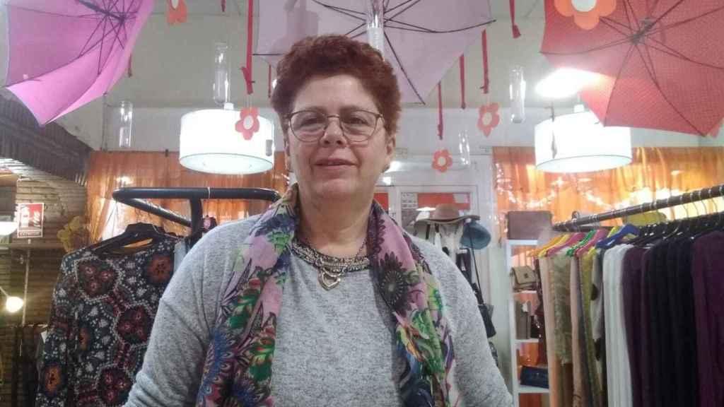 Carmen Martínez abrió una tienda de moda. La tiene que cerrar.