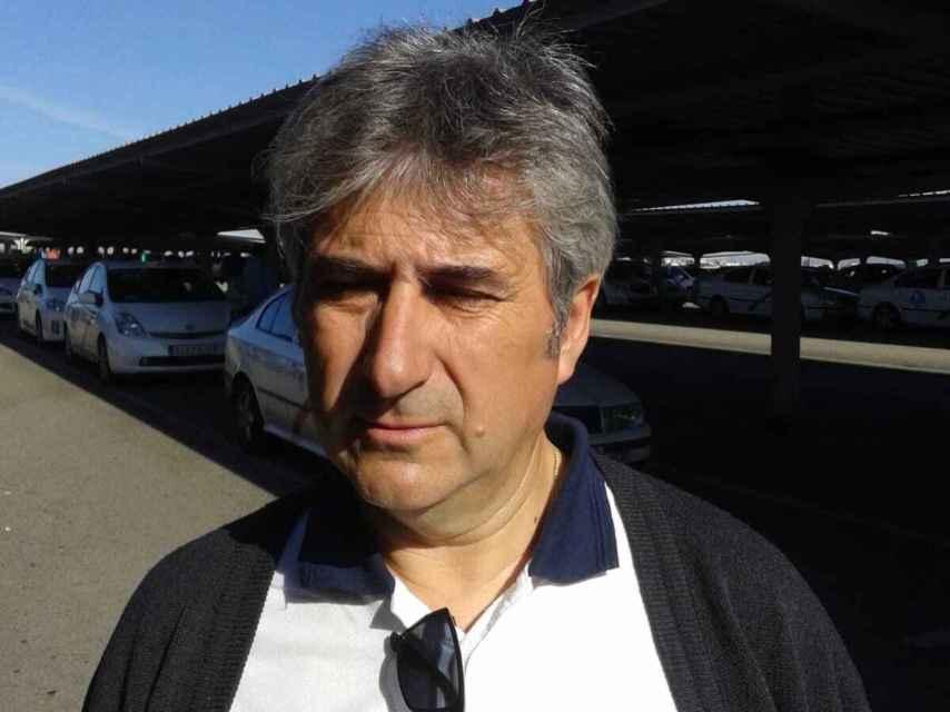 Alberto, taxista, se jubila.