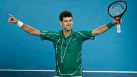 Djokovic, tras ganar la final del Open de Australia 2020