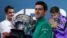 La carrera de Djokovic para cazar a Nadal y a Federer: 17 Grand Slams y subiendo