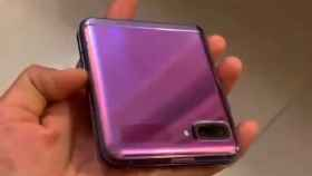 El nuevo móvil plegable de Samsung aparece en vídeo, así es el Galaxy Z Flip