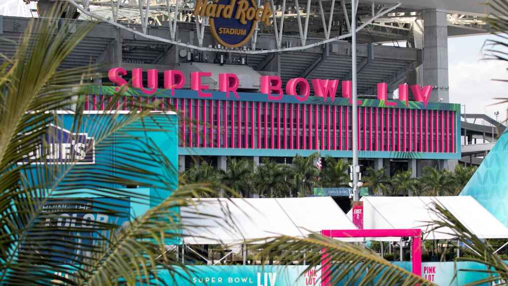 Sun Life Stadium de Miami, estadio de la LIV Super Bowl