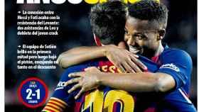 La portada del diario Mundo Deportivo (03/02/2020)