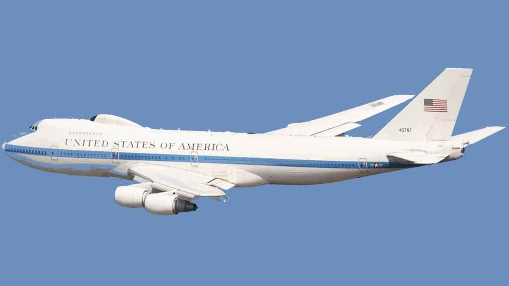 El avión del juicio final de Estados Unidos