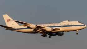 El Doomsday Plane aterrizando