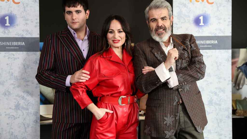 Alejandro Gómez Palomo, María Escoté y Lorenzo Caprile.