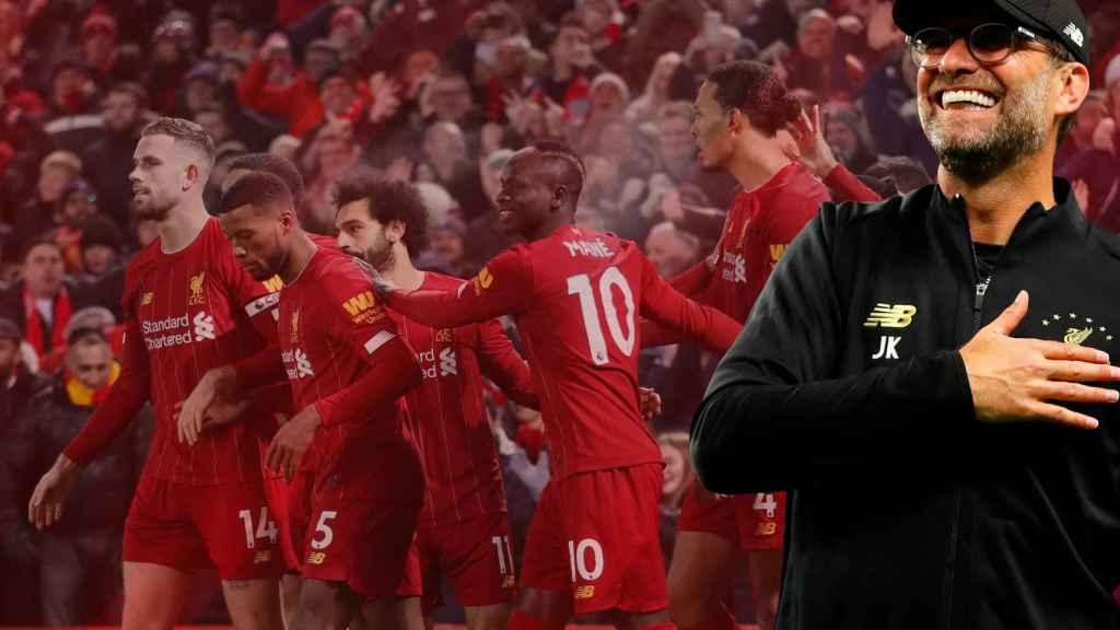 El Liverpool de Klopp