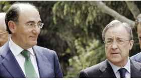 Sánchez Galán y Florentino Pérez./