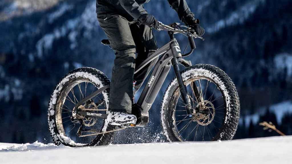 Jeep e-BIKE, bicicleta eléctrica de montaña