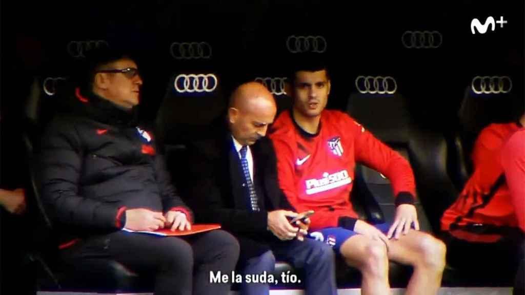 La vuelta hostil de Morata al Santiago Bernabéu