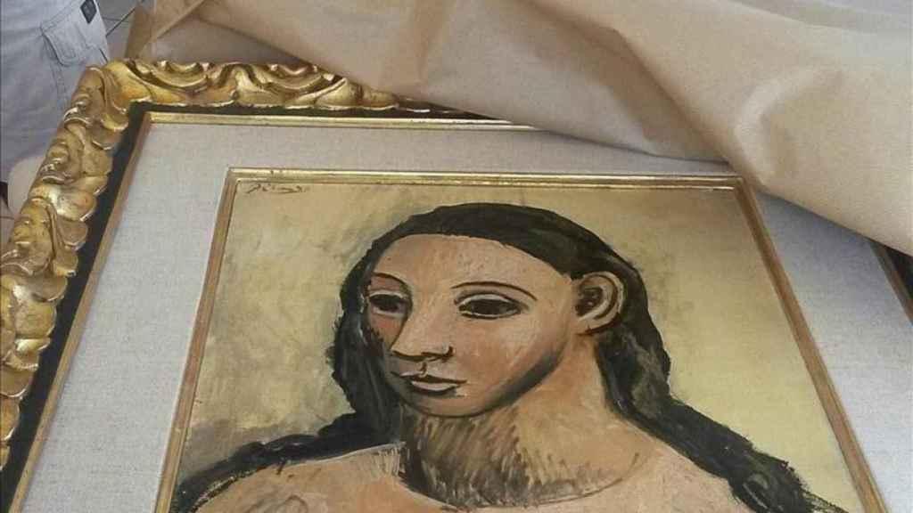 Cuadro de Picasso que pretendía vender Jaime Botín