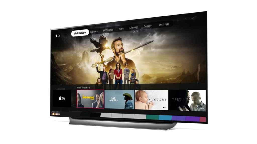 Apple TV en televisores LG.
