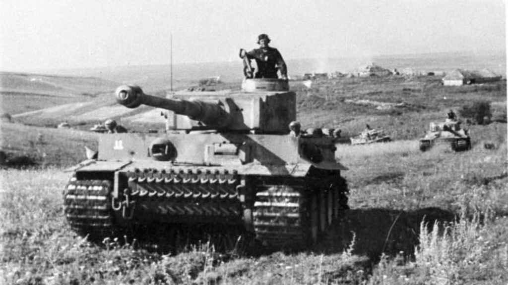 Panzer VI Tiger, tanque desarrollado en 1941 por los alemanes.