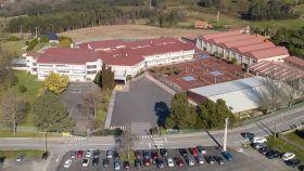 El Colegio Obradoiro (A Coruña).