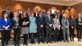 Foto de familia del Consejo Interterritorial del SNS, sin la consejera catalana.