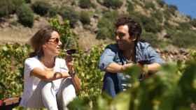 Martina e Ignacio Prieto Pariente, orgullosos de su verdejo.