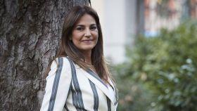 Mariló Montero durante la presentación de su nuevo libro, 'La maestra'.