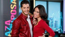 Nuria Marín y Nando Escribano, presentadores de 'Cazamariposas'.