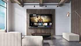 Apple TV en un televisor LG.