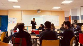 Aula colaborativa de uno de los centros del Colegio Luther King (Tenerife).