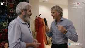 Lorenzo Caprile y Jesús Calleja durante el programa 'Planeta Calleja'.