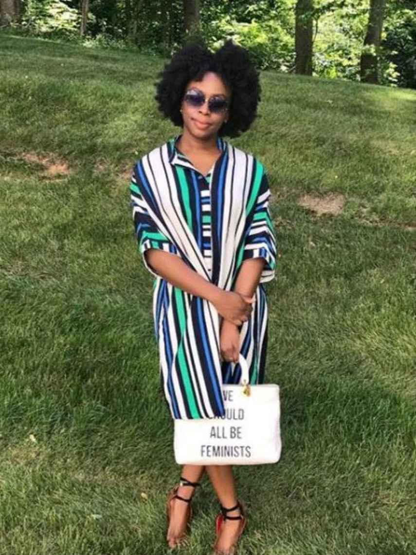Chimamanda Ngozi Achivie, en una imagen de su Instagram.
