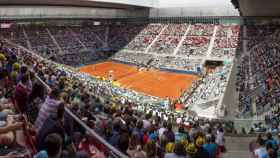 La Caja Mágica durante el Mutua Madrid Open