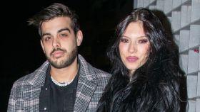 Alejandra Rubio junto a su expareja Álvaro en su última imagen pública en la pasada Nochebuena.