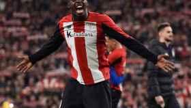 Williams celebra el único gol del partido