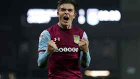 Jack Grealish con el Aston Villa