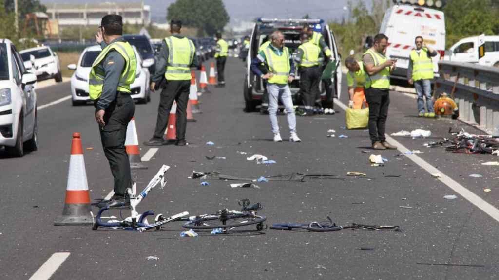 Muere un bombero y triatleta de 52 años al ser atropellado en Galicia mientras entrenaba