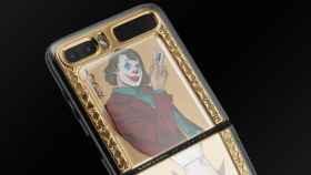 El Galaxy Z Flip aún no se presentó y ya tiene una edición exclusiva de El Joker y Harley Quinn