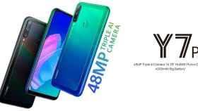 Nuevo Huawei Y7p: muy barato, con triple cámara y sin apps de Google