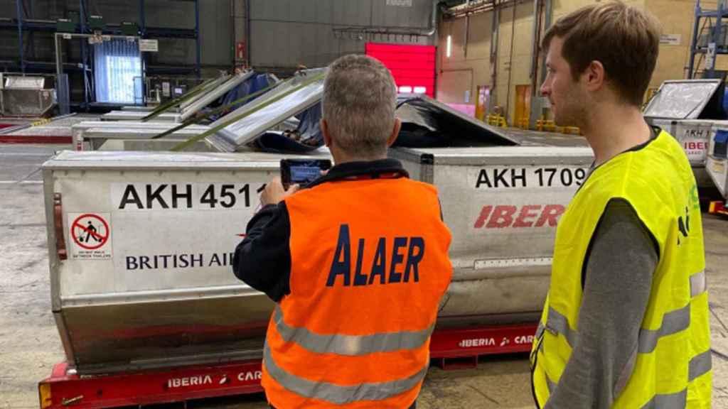 El proyecto de AllRead MLT en una de las instalaciones de IAG.