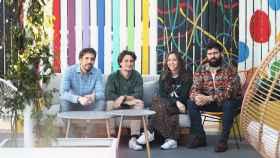 Los fundadores de startup española Meep.