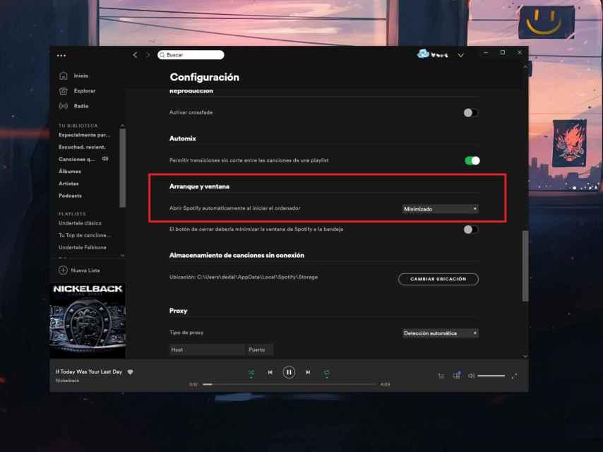 Spotify en Windows